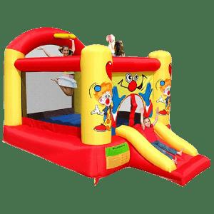 Детский надувной батут «Любимый клоун»