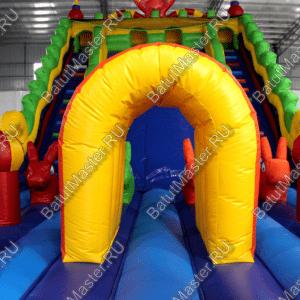 """Надувной батут """"Dragons"""", размер 14х7х8 м"""