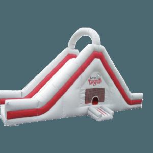 Детский надувной батут-горка «Дворовая»