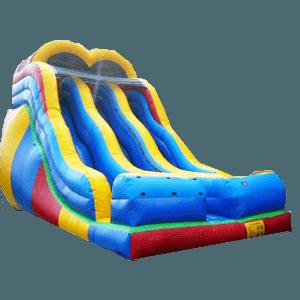Детский надувной батут-горка «Крутая волна»