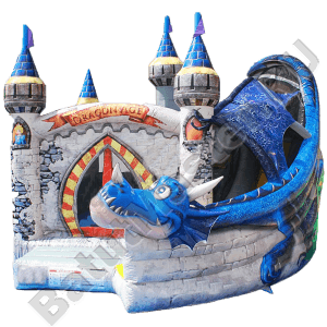 Коммерческий надувной батут «Змей Горыныч младший»