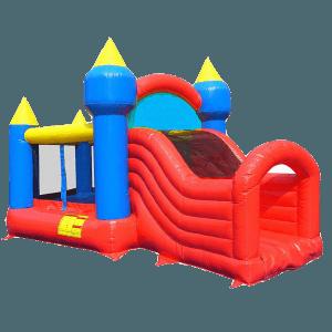 Спортивный надувной аттракцион «Маленький замок» с крышей