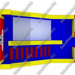 Макет надувного батута «Зайка», размер 8*5*6 м.