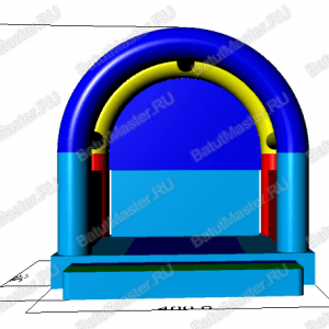 4x4x4m Макет батута Синее море (1)