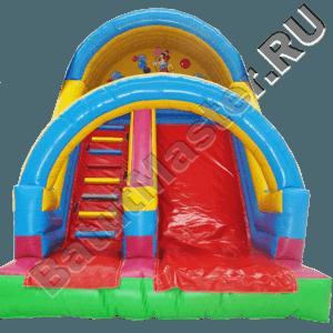 Детский надувной батут-горка «Цирк»-111