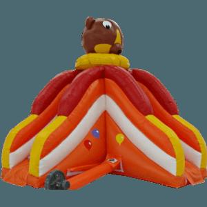 Детский надувной батут-горка «Мишка Тедди»