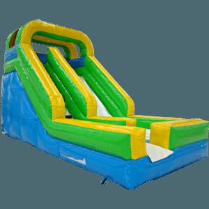 Детский надувной батут-горка «Полоса счастья»