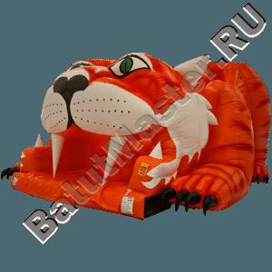 Детский надувной батут-горка «Тигр»-101