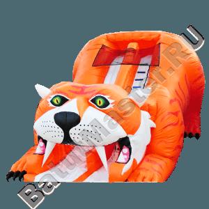 Детский надувной батут-горка «Тигр»-11