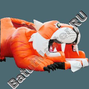 Детский надувной батут-горка «Тигр»-12