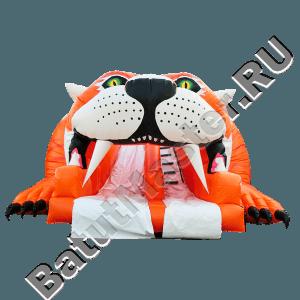 Детский надувной батут-горка «Тигр»-13