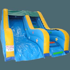 Детский надувной батут-горка «Звездный успех»