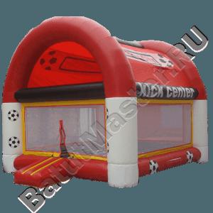 Детский надувной батут «Мячики» с крышей