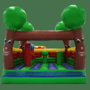 Коммерческий надувной батут «Деревья»-111