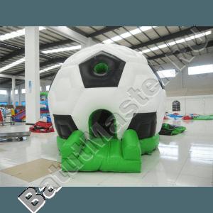 Коммерческий надувной батут «Футбольный мяч» с крышей
