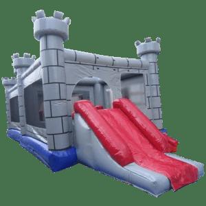 Коммерческий надувной батут «Крепость»