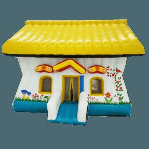 Коммерческий надувной батут «Пряничный домик»