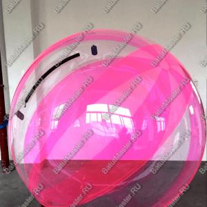 """Водный шар """"Розовое сияние"""""""
