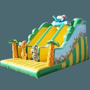 Детский надувной батут-горка «Экзотическая страна»