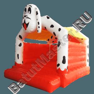 Детский надувной батут «Большой далматинец» с крышей