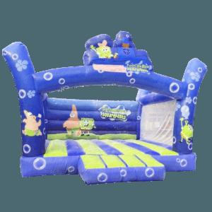 Коммерческий надувной батут «Подводный мир»