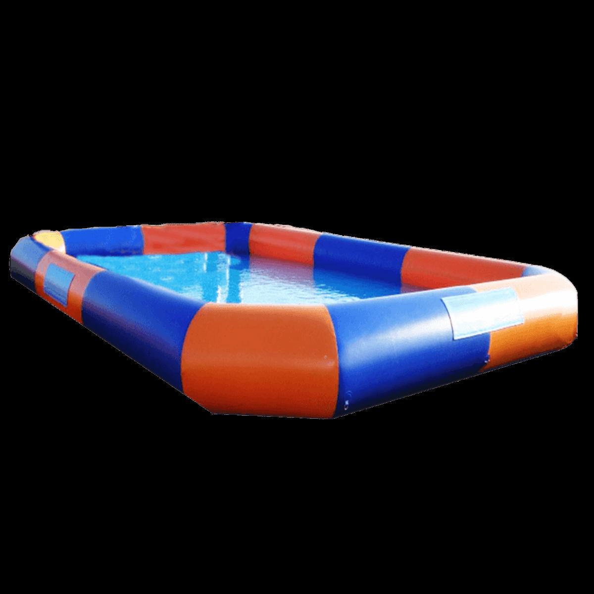 Квадратный надувной бассейн «Зебра»