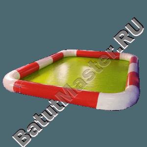 Прямоугольный надувной бассейн «Полосатик»