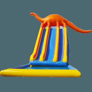 Детский надувной батут-горка «Динозавр»
