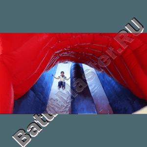 Детский надувной батут-горка «Акула»-22