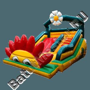 Уличный надувной батут «Цветочек»