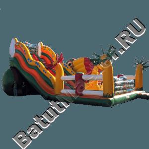Детский надувной батут-горка «Африка»