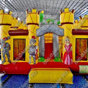 """Надувной батут """"Замок дракона"""", размер 5*5*4 м."""
