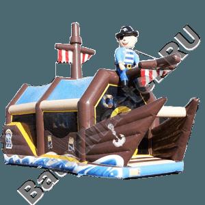 """Надувной батут """"Пиратский корабль 2"""""""