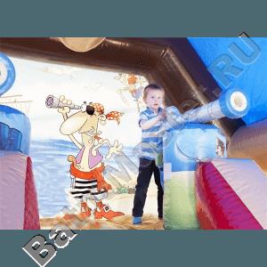 """Надувной Батут """"Пиратский корабль"""" 3"""
