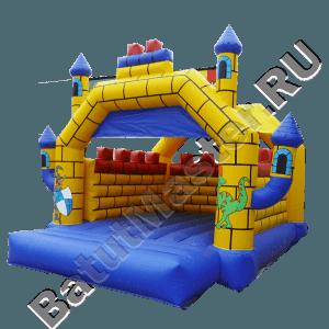 """Надувной Батут """"Крепость 2"""" с крышей"""