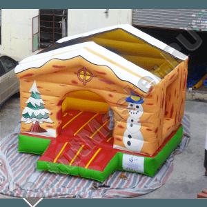 """Надувной Батут """"Зима с крышей"""""""
