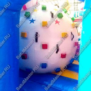"""Надувной батут """"Мороженое"""", размер 5*5*3,5 м"""