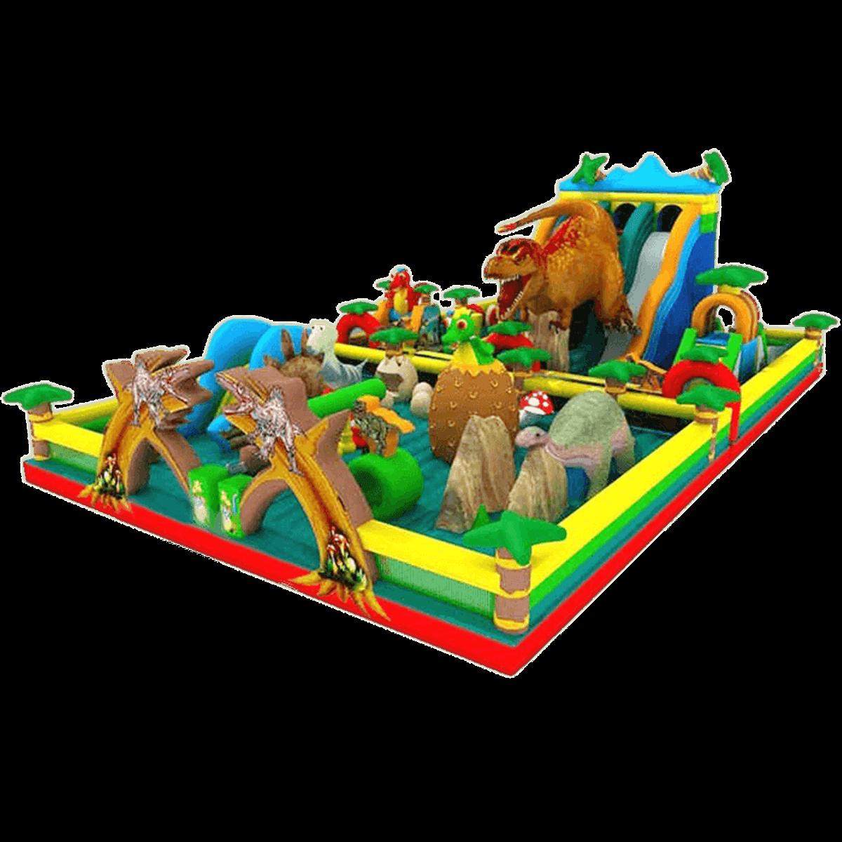 Коммерческий надувной батут «Динопарк»
