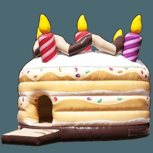 Коммерческий надувной батут «Торт»