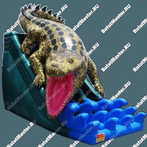 """Надувной батут """"Крокодил"""""""