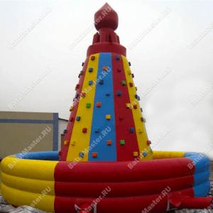 """Надувной скалодром """"Покоритель вершин"""""""