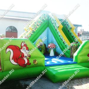 """Надувной батут """"Райский лес"""", размер 7*7*5 м"""
