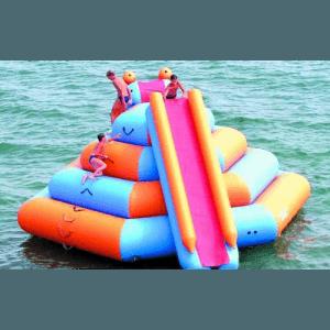 Надувной водный аттракцион «Веселые ярусы»
