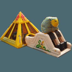 "Надувной батут ""Пирамида"""