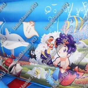 "Надувной батут ""Морские обитатели"", размер 7*4*2.5 м"