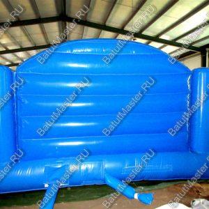 Коммерческий надувной батут «Морские обитатели», размер 7х4х3 м.