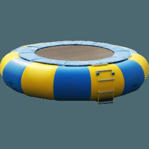 Надувной водный Батут «Веселое Колесо»