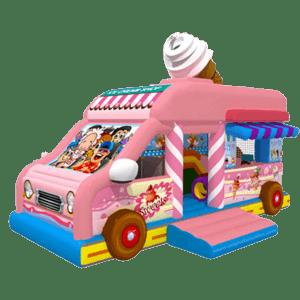 Коммерческий надувной батут «Машина сладостей»