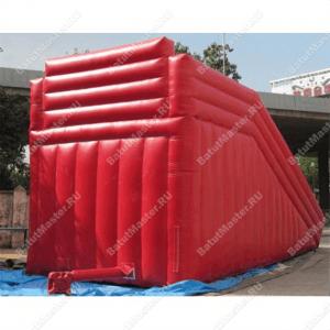 Надувная горка для зорба «Red ramp»