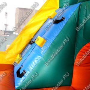 Коммерческий надувной батут «Лесной Домик», размер 3.5*3.5*2.5 м